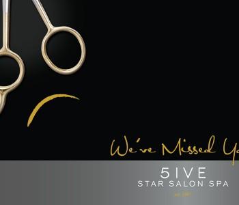 5IVE Star Salon_postcard_Denise Ford