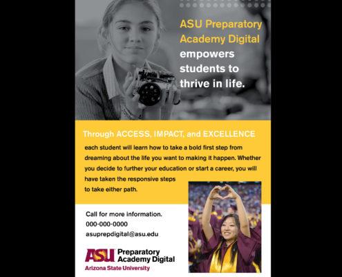 Denise Ford ASU digital brochure